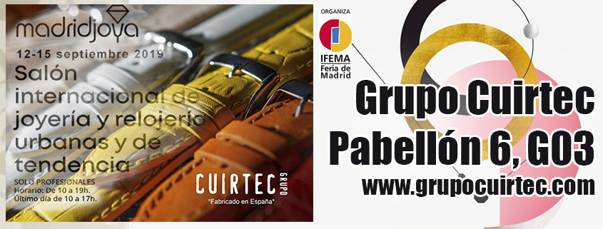 MadridJoya Grupo Cuirtec septiembre 2019