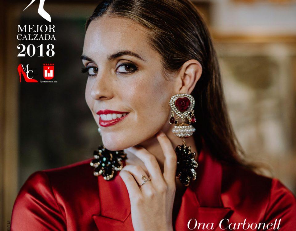 """Ona Carbonell la mujer """"Mejor Calzada de España 2018"""""""